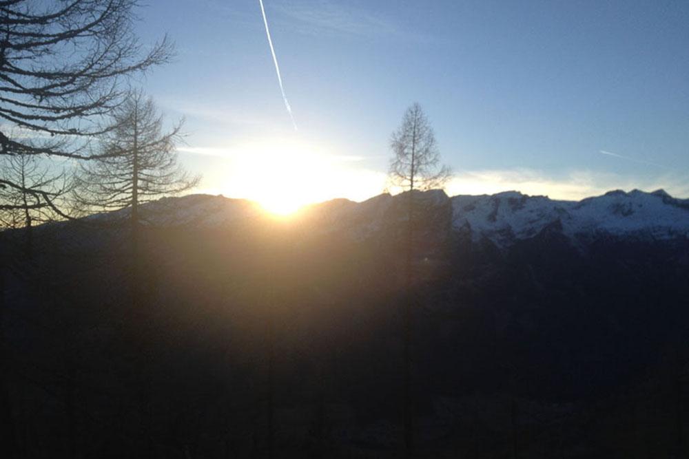 Sonnenaufgang Stubeck