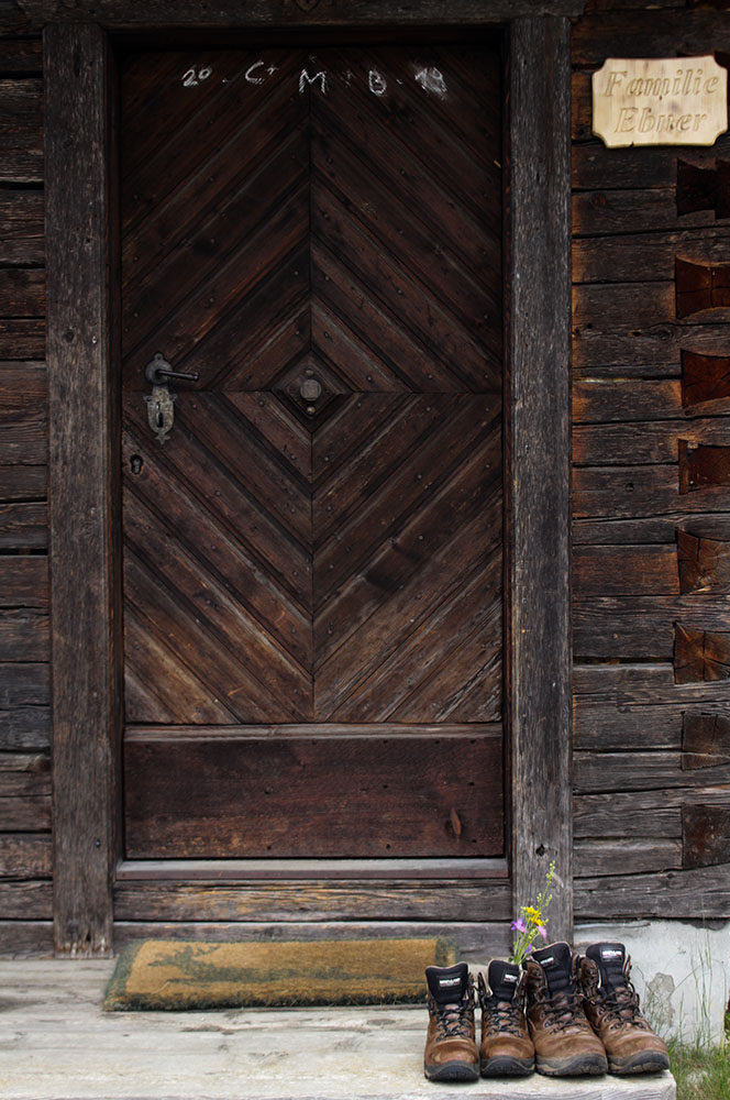 Traodkasten Stubeck Eingangstür